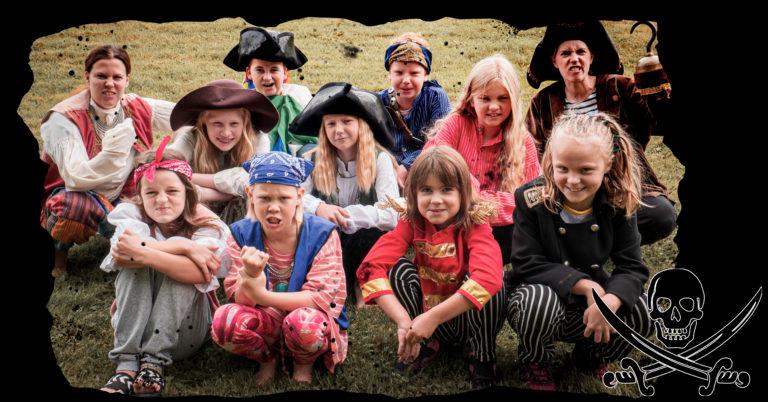 Piratshow og sjørøverjakt!